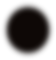 A blurry dark brown circle.